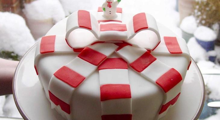 Торт для новогоднего корпоратива