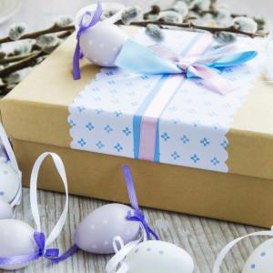 Как оригинально оформить пасхальные подарки?