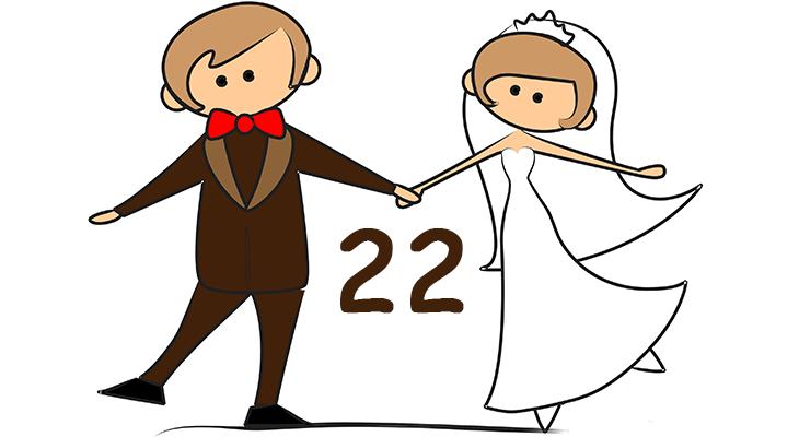 Идеи подарка на бронзовую свадьбу (22 года свадьбы)