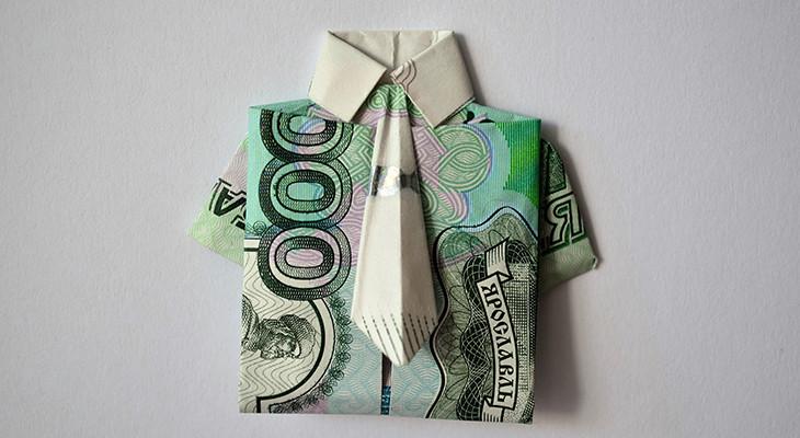 20 способов оригинально подарить деньги мужчине