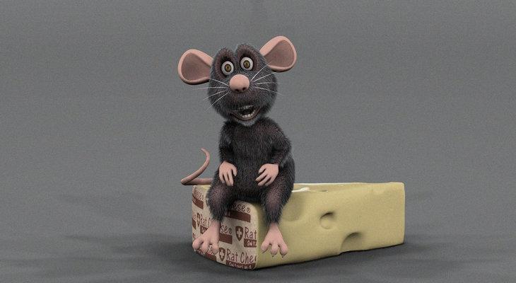 Сувенир в форме крысы или мышки