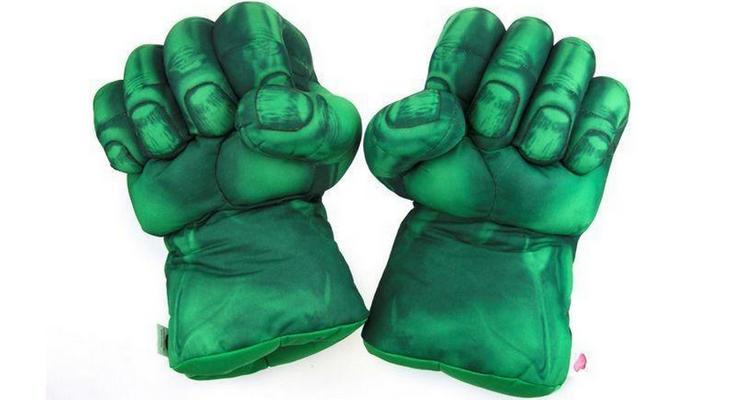 Перчатки-кулаки Халка