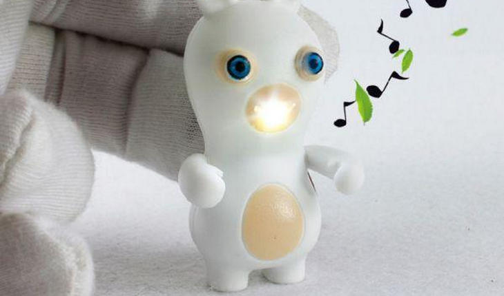 Брелок-фонарик «Бешеный кролик»