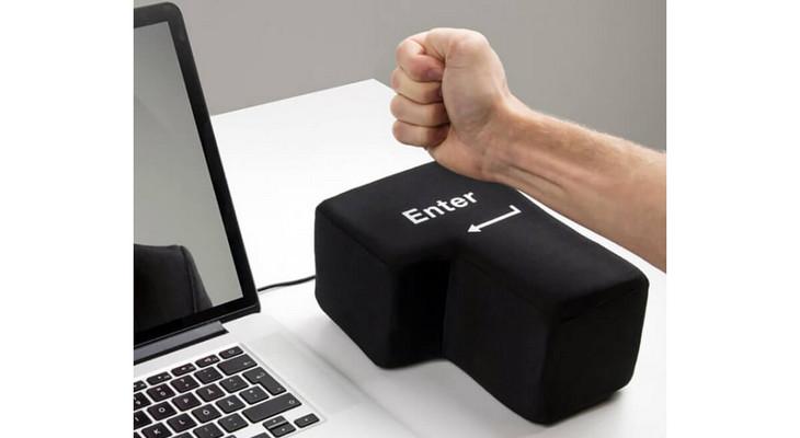 Кнопка-антистресс «Enter»
