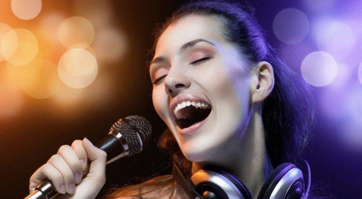 Занятие вокалом