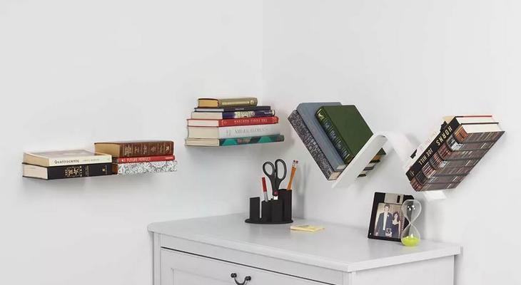 Комплект невидимых полок для книг