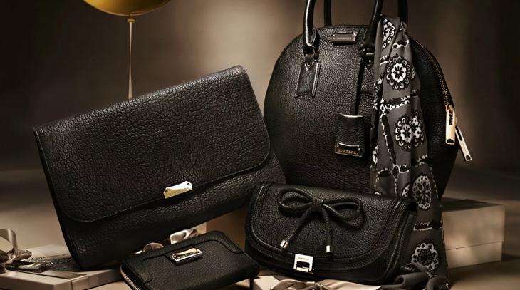 Стильная сумка с косметичкой и кошельком