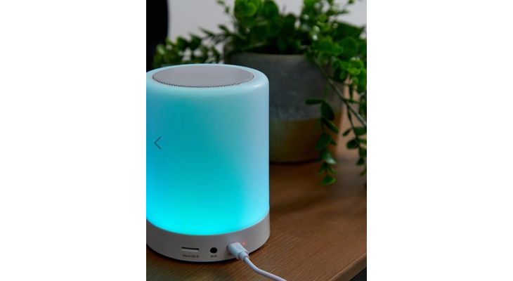 Сенсорная лампа с беспроводным динамиком