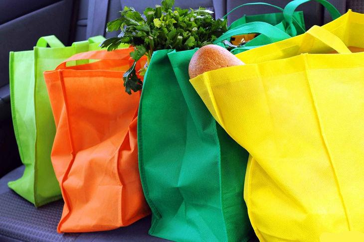 Сумка для покупок из эко-материала