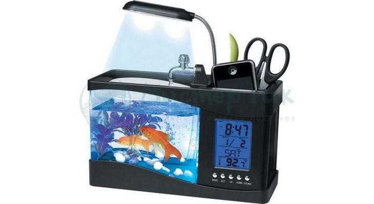 Мини аквариум-органайзер