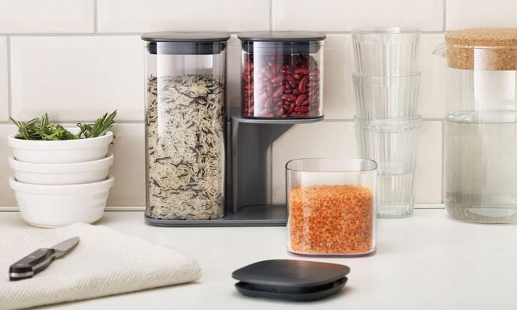Набор емкостей для хранения сыпучих продуктов