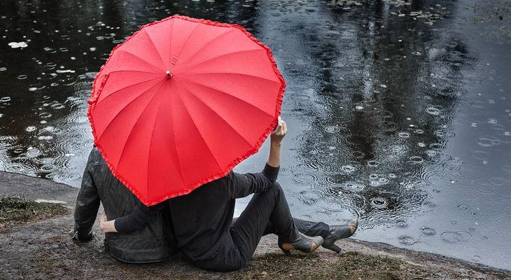 Необычный зонтик