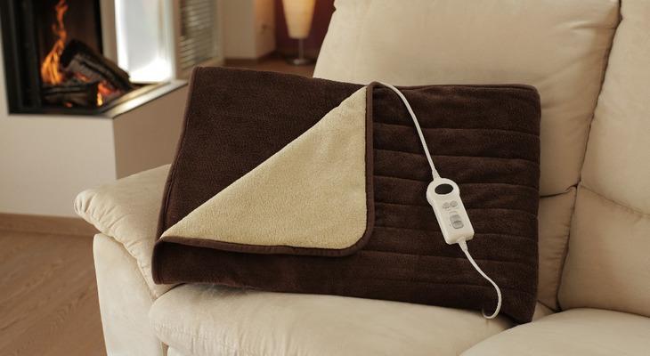 Одеяло с электронным подогревом