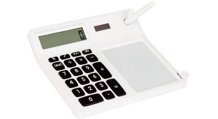 Калькулятор с мемо-панелью