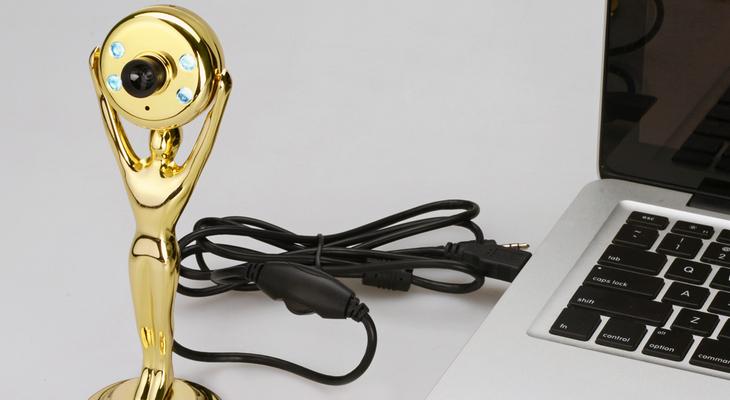 Веб-камеры в виде статуэток