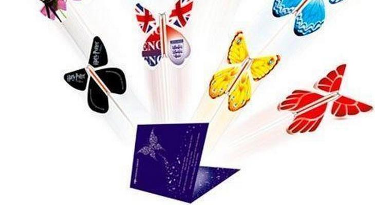 Вкладыш-сюрприз «Летающая бабочка»