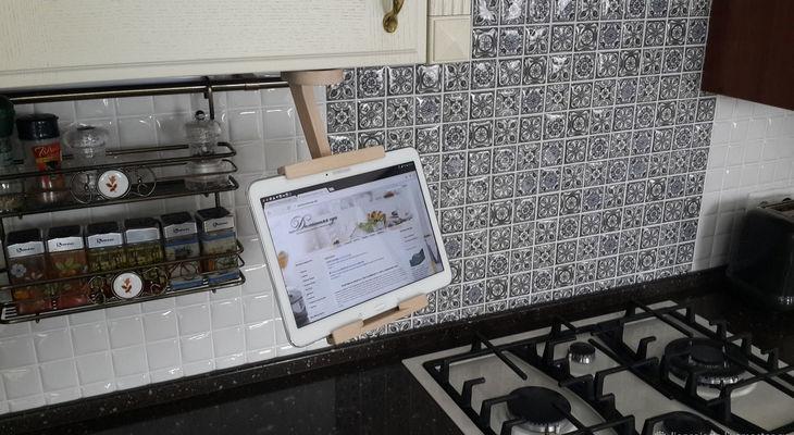 Держатель для планшета на кухню