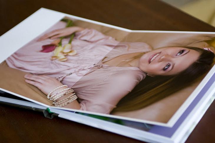 Фотокнига с памятными снимками