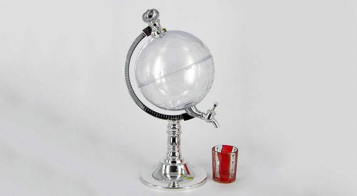 Глобус-графин