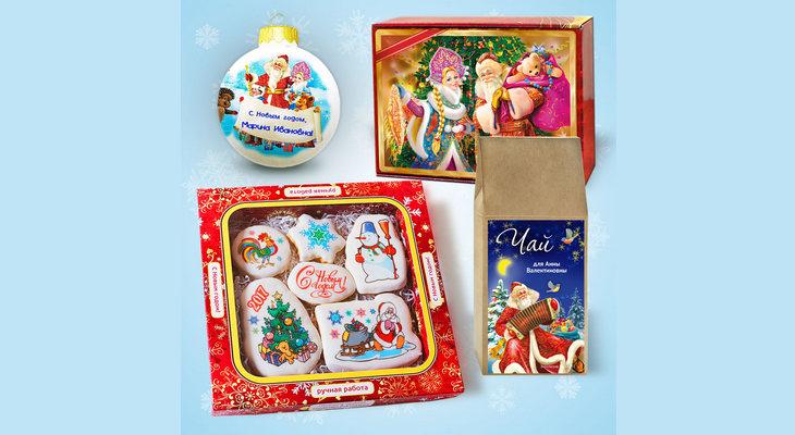 Набор с печеньем «Новогодние сюжеты»