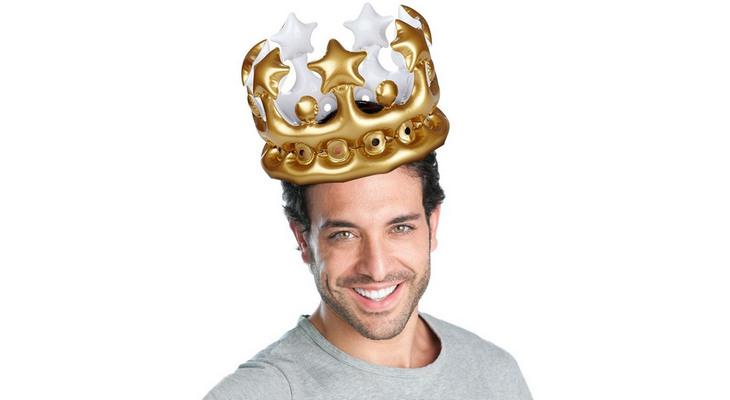 Надувная корона