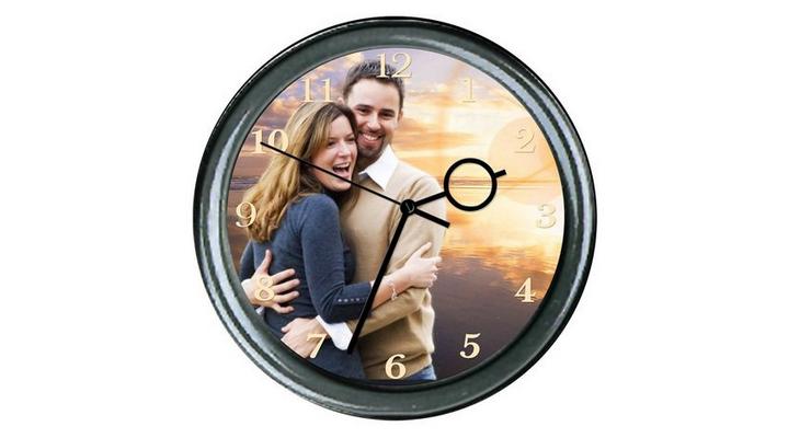Настенные часы с вашими изображениями