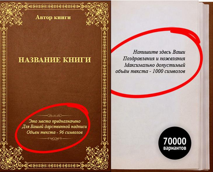 Персонализированная книга