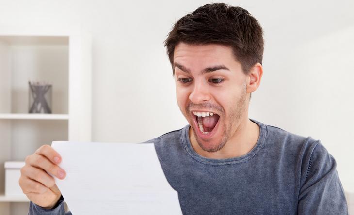 Письмо в почтовом ящике