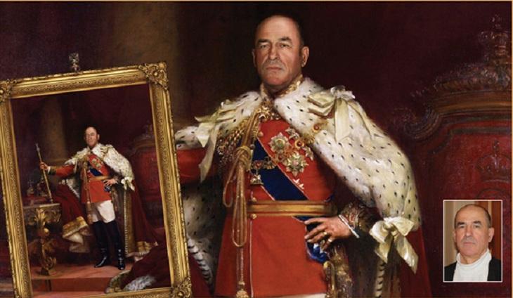 Портрет в историческом образе на холсте