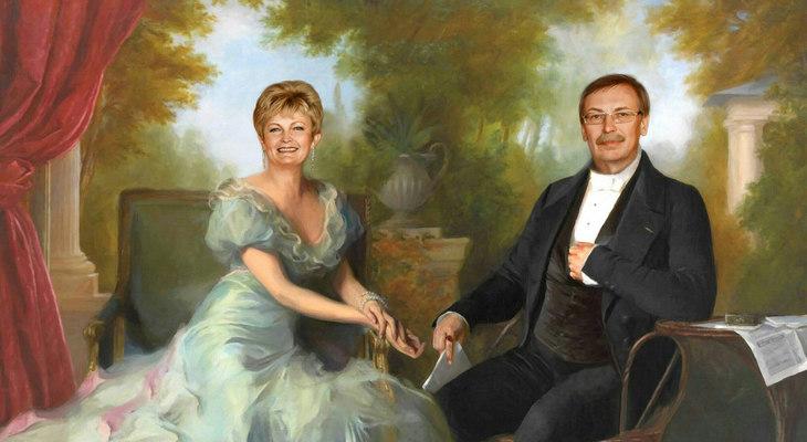 Портрет родителей в историческом образе