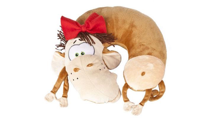 Прикольная подушка на шею