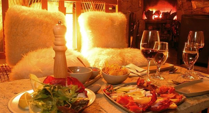 Романтическо-эротический ужин