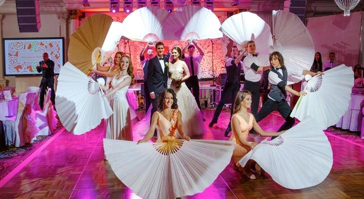 Шоу на свадьбу