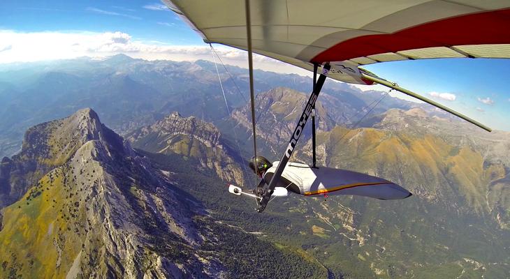 Сертификат на прыжок с парашютом или полет на дельтаплане