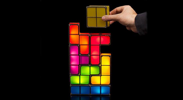 Светильник-головоломка «Тетрис»