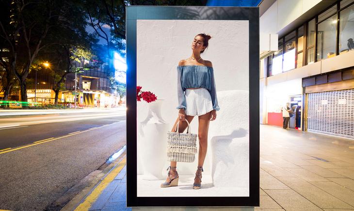 Уличный билборд
