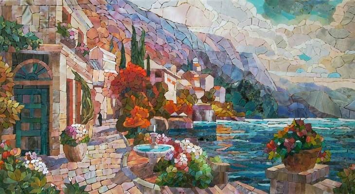 мозаичная картина