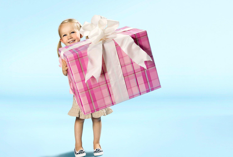 картинки с подарками дочке