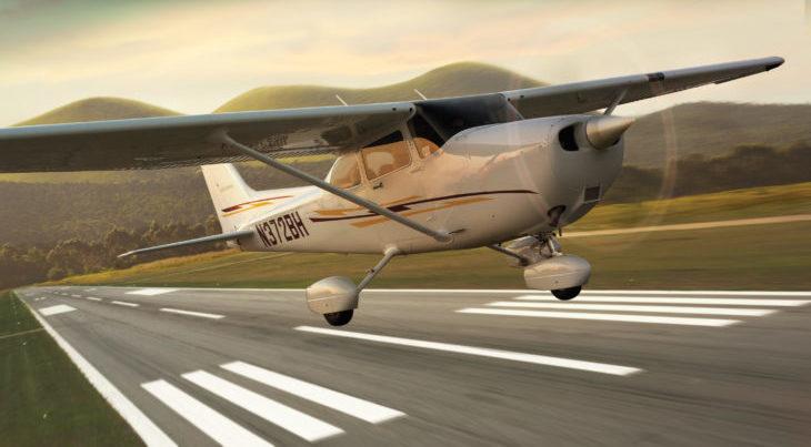 Полет на легкомоторном самолете